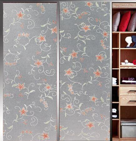Anti Uv D Electrostatic Bathroom Contact Paper Peel And Stick - Vinyl stickers for glass doors