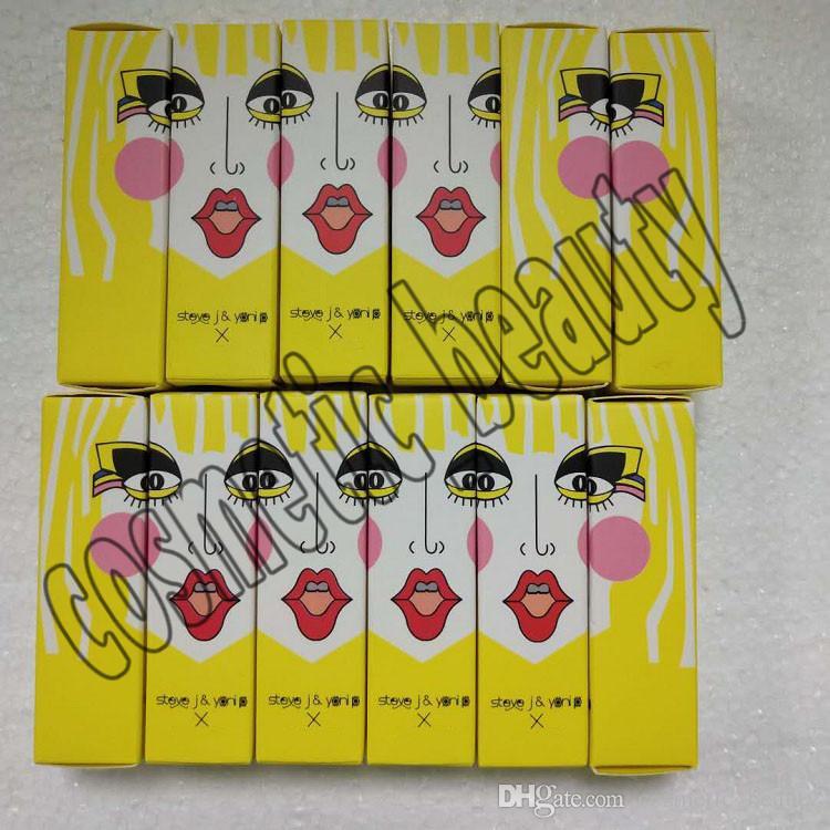 Makeup Matte Lipstick Steve J & Yoni P X Lipstick Amplified Candy Yum Yum Lipstick Have 12 Different Colors