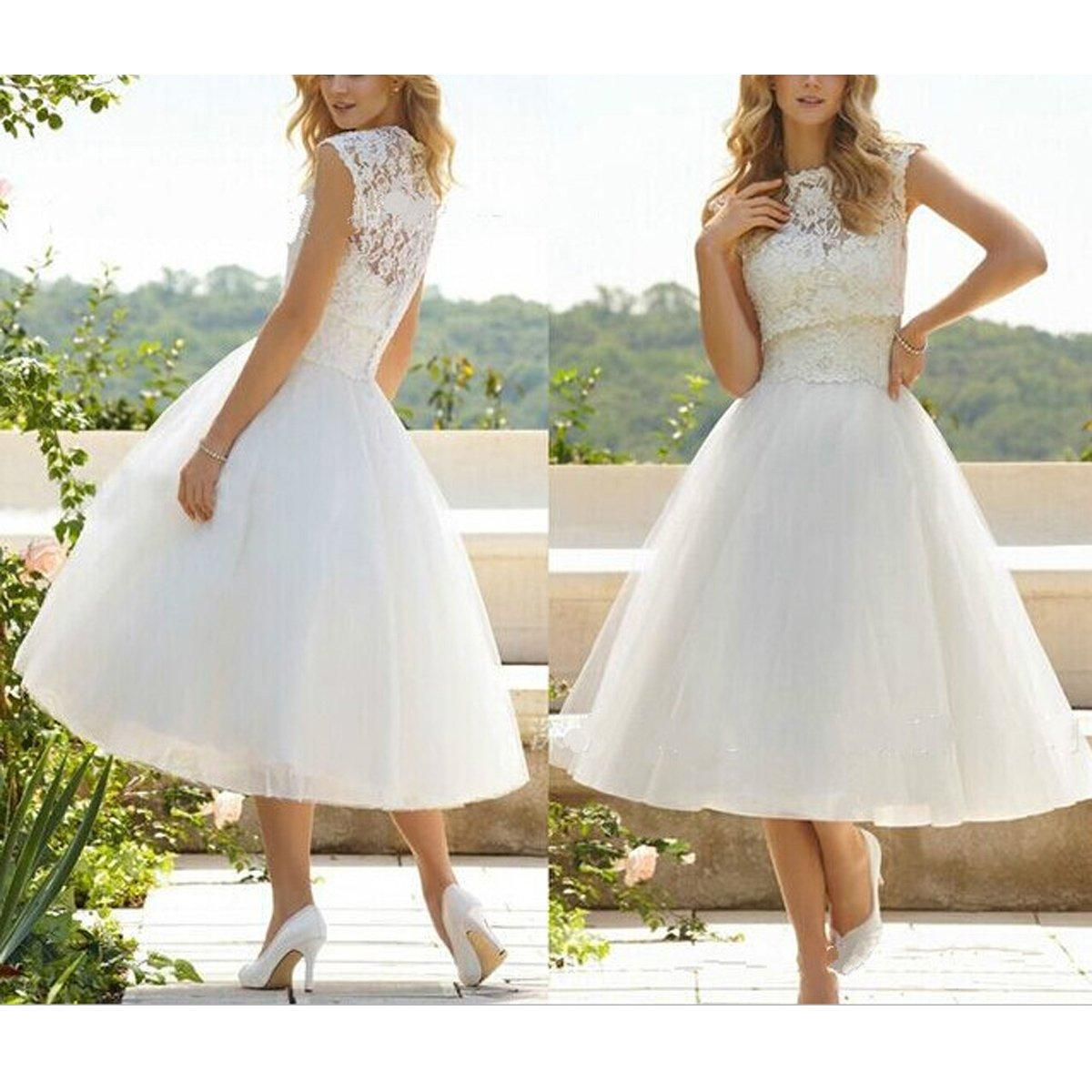 Discount A Line Wedding Dresses Winter 2016 Cheap Simple