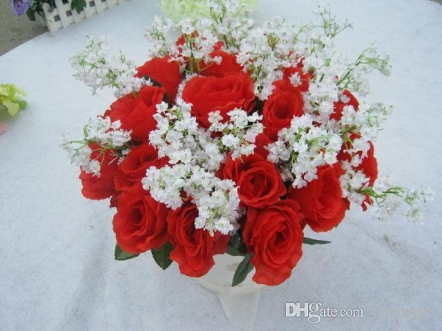 гипсофилы гипсофила искусственный шелк цветок завод домашнее свадебное украшение декоративные цветы свадебный букет украшение свадебных цветов