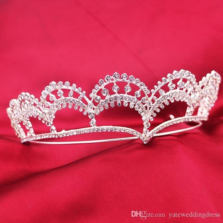 Romantische Braut Haarschmuck Sexy Strass und Kristalle Kopfschmuck 2015 Top-Qualität Braut Stirnband Hochzeit Tiaras