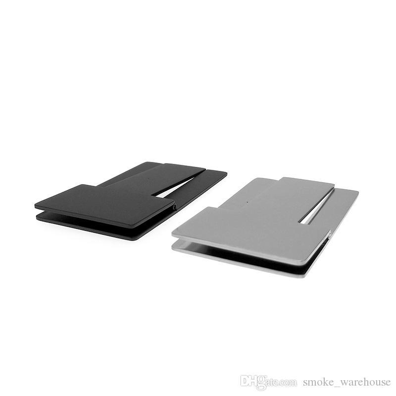 Boa Qualidade COHIBA Prático Gadgets de Prata de Aço Inoxidável de Alta Qualidade Dobrável Stand Mostrando Portátil Charuto Cinzeiro Titular Frete Grátis