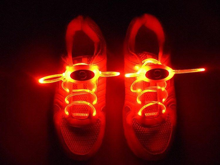 Luminous LED Multicolors Schnürsenkel Fashion Light Up Lässige Leucht Schuh Strings Jungen Mädchen Kinder Leuchten LED Schnürsenkel