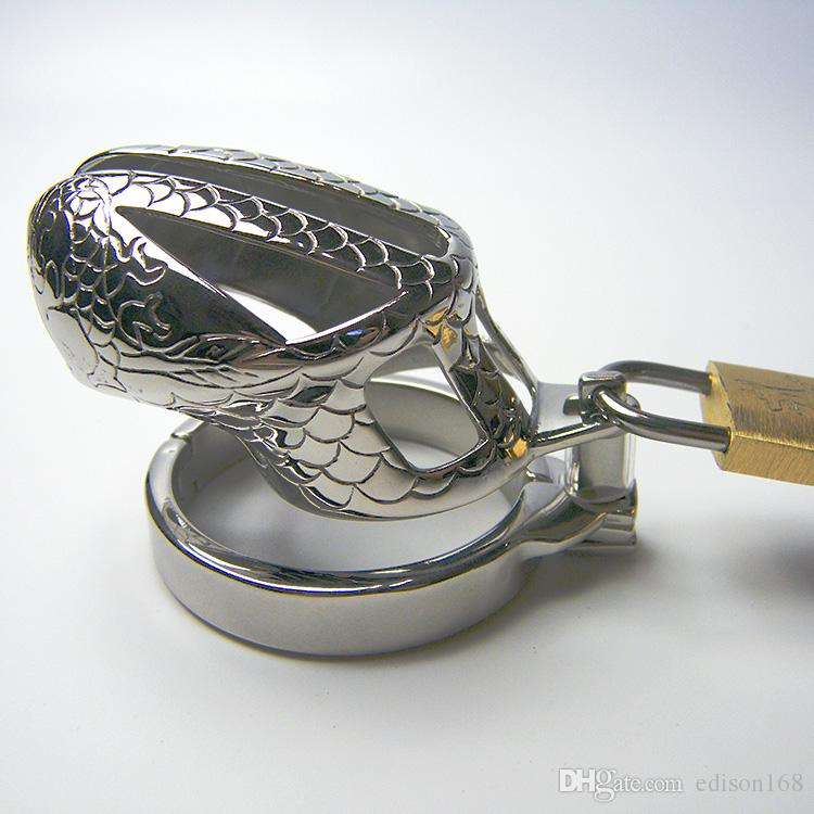 2017 Последний дизайн мужской нержавеющей стали масштаб как петух пенис клетка с нескользящим кольцом пояс верности устройство петух кольцо БДСМ секс игрушки для взрослых 947