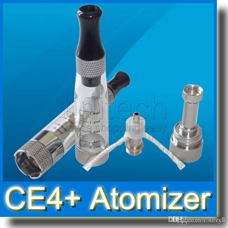 CE4+ 1.6ml 2.4ohm Atomizer updated Cartomizer from CE4 Atomzier VS CE5 CE6 Clearomizer Match with Ego T Ego w Twist Battery