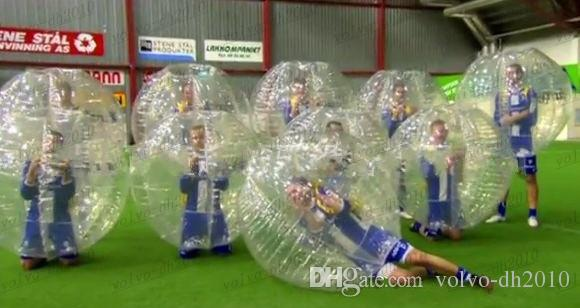 Inflatable bumper ball to play soccer body Zorb Inflatable bumper ball hit both sports and entertainment pool toys 1.2 m 1.5 m LLFA3825F