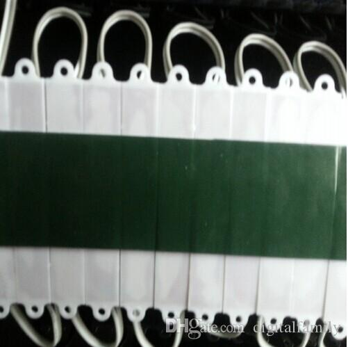 500X rétro-éclairage module led pour panneau lumineux LED lampe 5050 SMD 6 LED 120 lumen vert / rouge / bleu / chaud / blanc étanche IP65 DC 12V par DHL