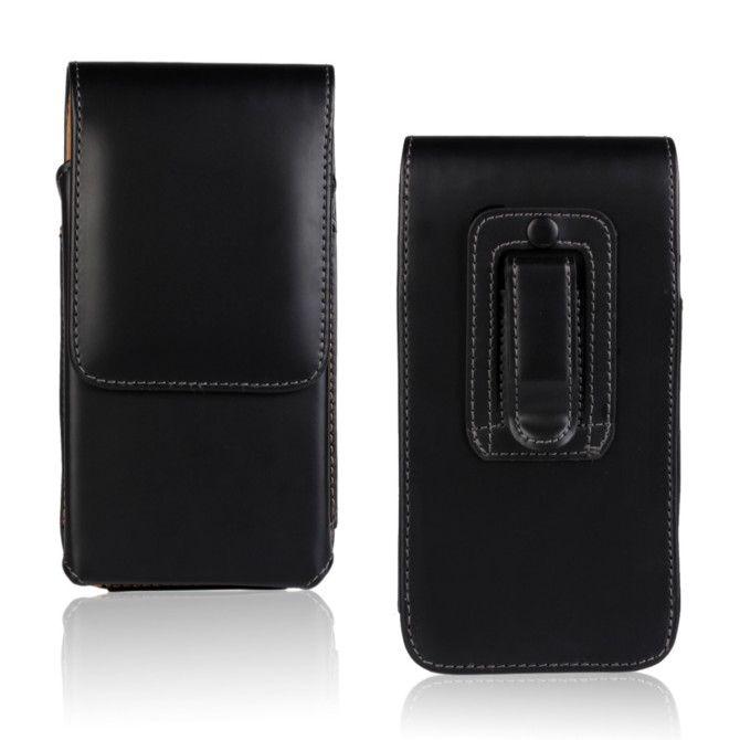 Caso de alta qualidade para motorola moto nexus 6 pu bolsa de proteção de couro flip clipe de cinto caso de telefone celular