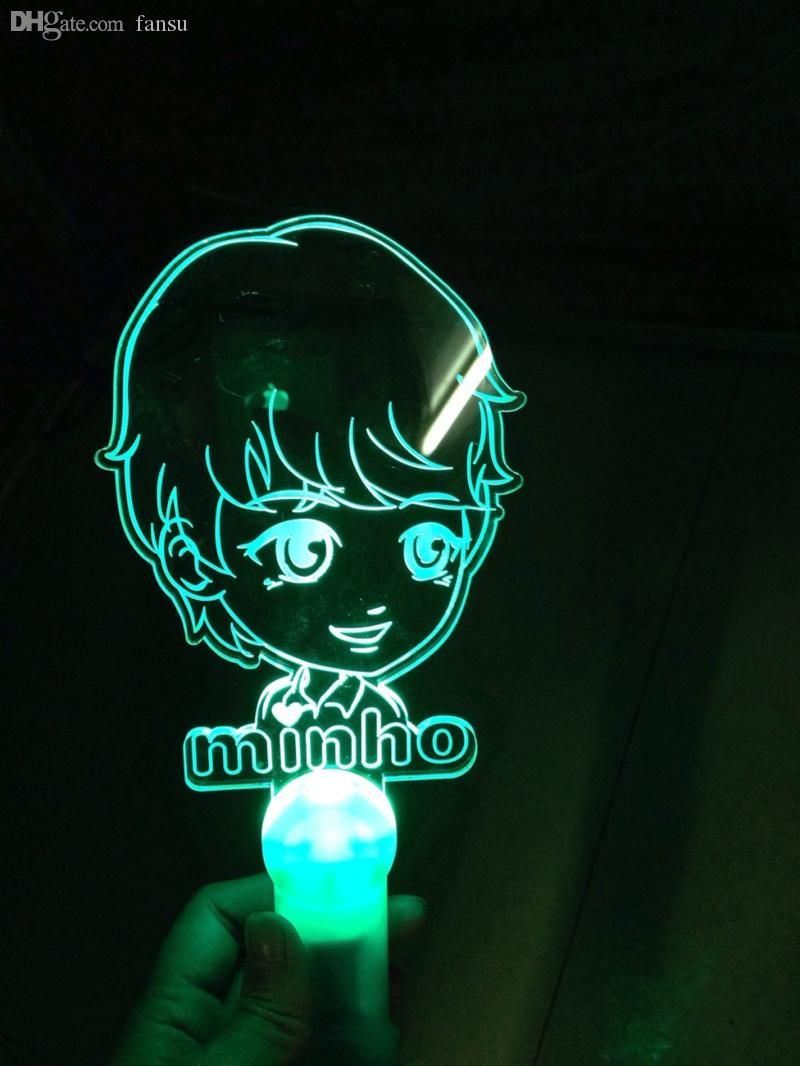2018 Wholesale Kpop Shinee Minho Cartoon Light Sticks Concert ... for Light Stick Shinee  10lpwja