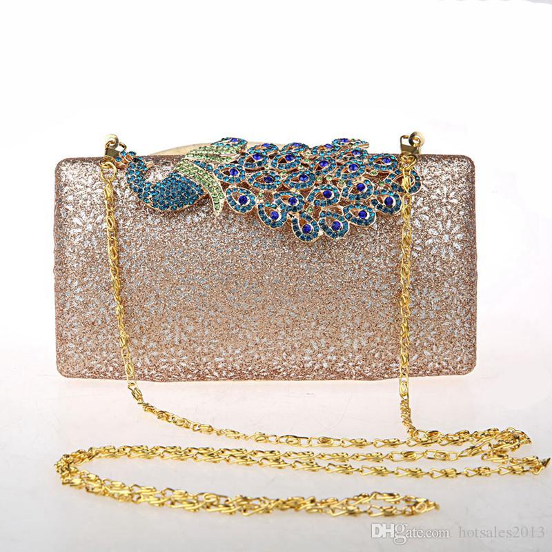 حقائب الموضة الجديدة عالية الجودة سيدة مساء حقيبة مخلب فينيكس نمط الزفاف مطابقة حقيبة مأدبة حفلة موسيقية حقيبة يد