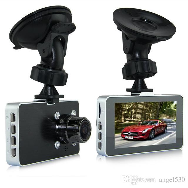 "G2W Car DVR 1080P Full HD 30FPS Camera 3.0"" Screen 140 Degree Wide Angle G-sensor Video Recorder Metal Shell"