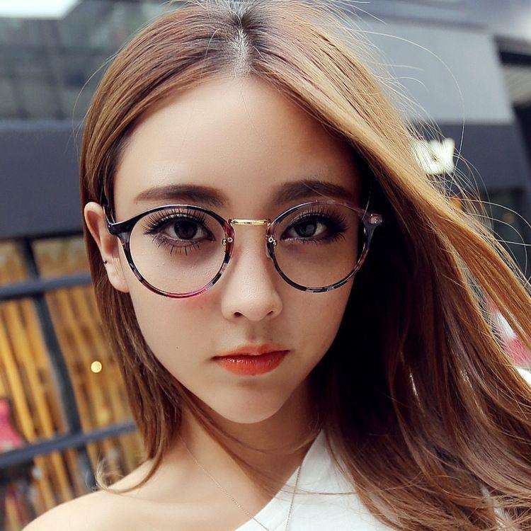 Fashion Full Frame Flat Glasses Unisex Glasses Frame Yj008