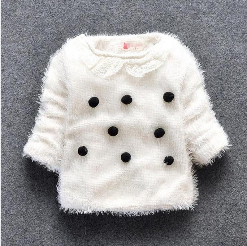232e13098 Children Children\u0027S Clothing Wholesale Qiu Dong Outfit Girls Female Baby  Wool Sweater Mao Qiu Lapel Woollen Sweater Bh1099 Free Knitting Patterns  For ...