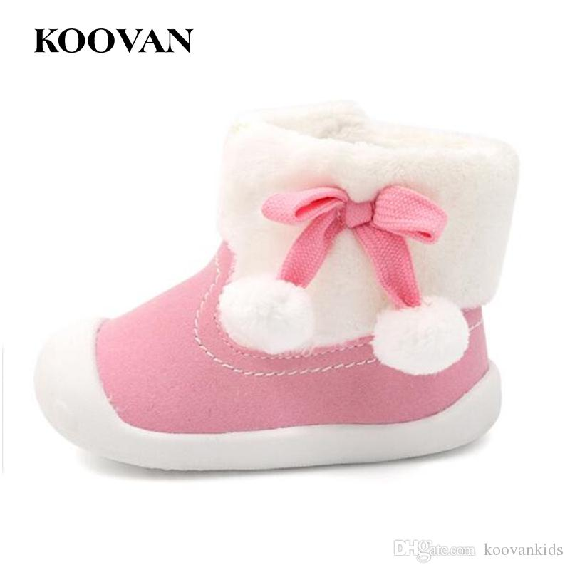 9a5df126f Koovan Baby First Walker Snow Boots 2017 0-1 Years Old Girl Adding ...