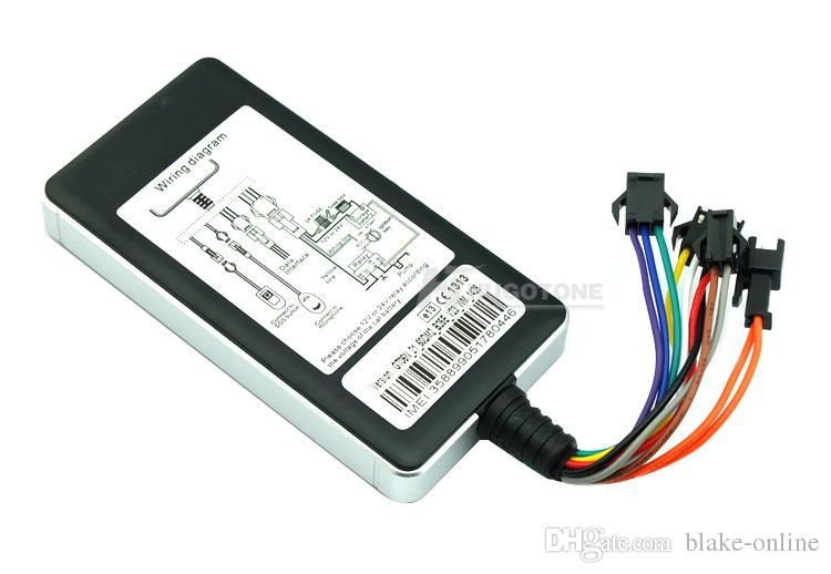GT06N Wodoodporny samochód GPS Tracker Lokalizator GSM GPS Antena Wewnętrzna śledzenie Wsparcie Google Map Map Remote Cut-off Via Platform App