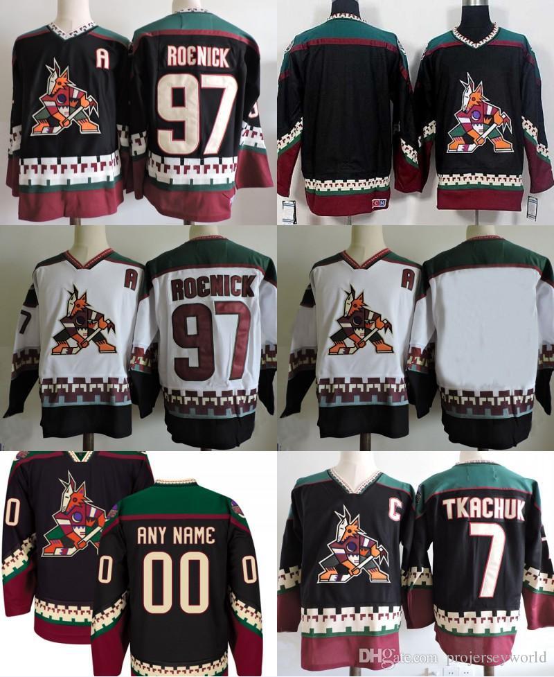 2019  97 Jeremy Roenick Arizona Coyotes Hockey Jerseys  7 Keith ... fed7ada656b