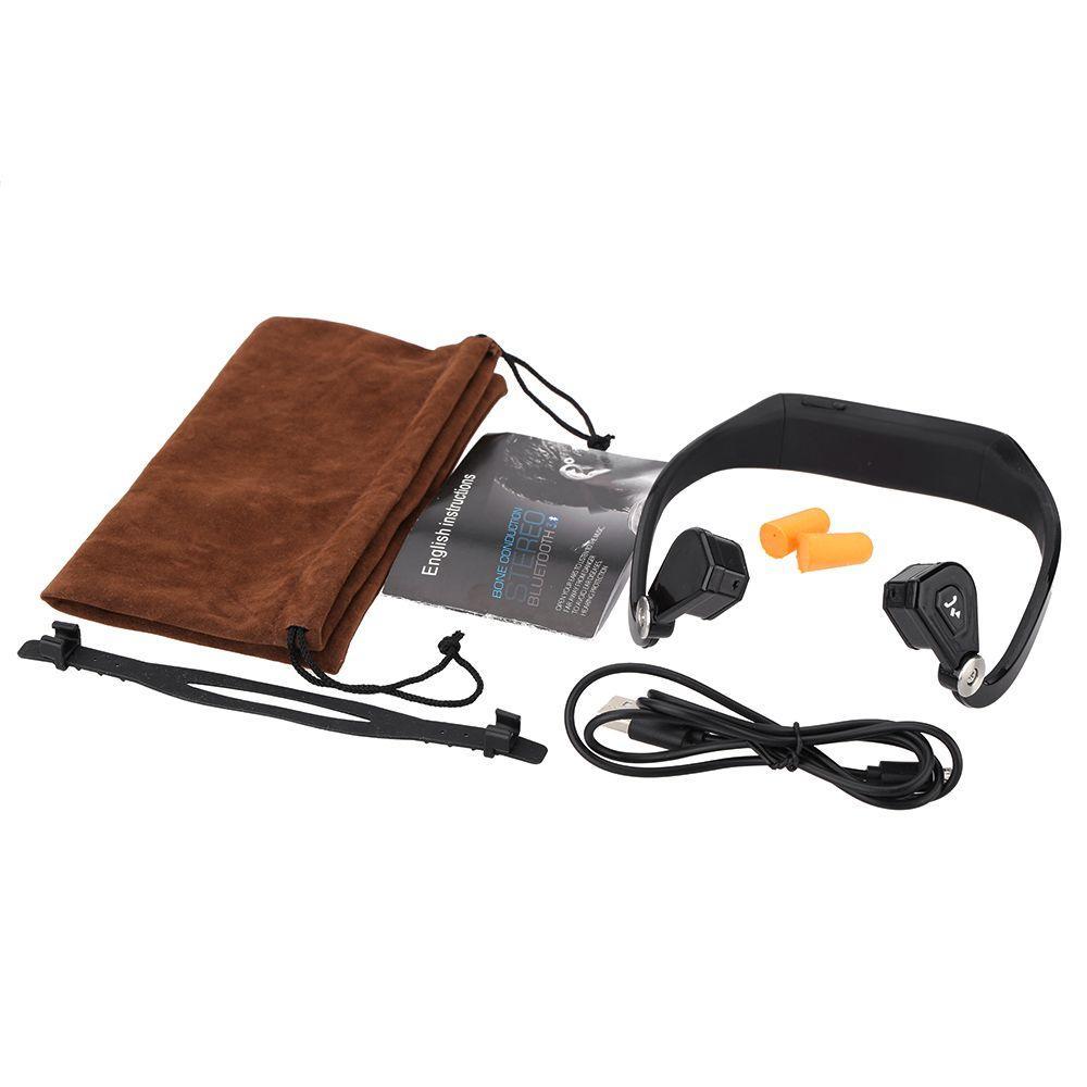 Bluetooth Sans Fil Casque BTL-HM1302A Oreillette Bone Bluetooth 3.0 + EDR Stéréo Sport Sport Casque avec Microphone