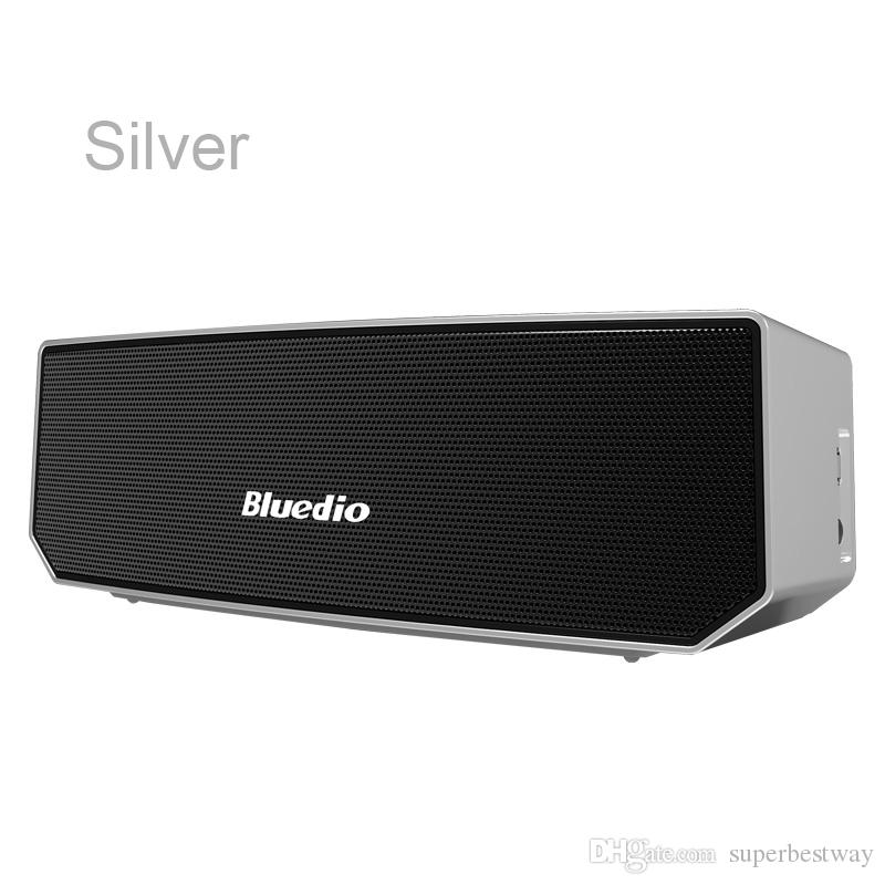 Bluedio BS-3 Speakers Bluetooth 4.1 3000mAh Battery Built-in MIC Micro-USB Portable Audio Players For HTC Motorola Samsung DHL free MIS090
