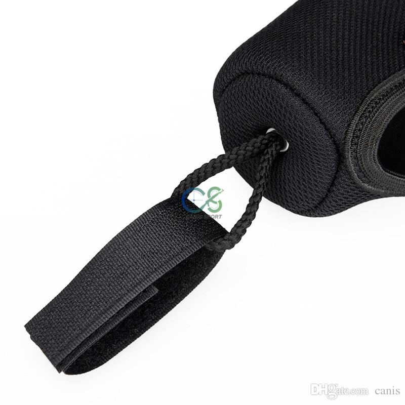 Nuovo arrivo Molle Pouch Black Neoprene Rifle Scope Cover impermeabile uso esterno cl6-0096