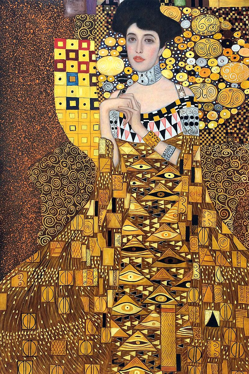 2018 oil painting gustav klimt art for sale portrait of for Gustav klimt original paintings for sale