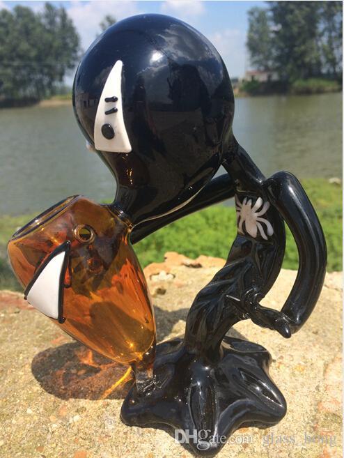 Fumador Pipe Alien Glass Fumar Tobacco Pipe Bong 5.5