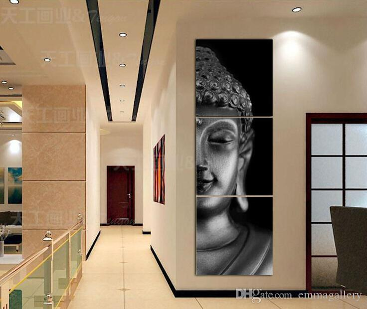 Best 3 Panel Modern Buddha Print Painting Picture On Canvas Living Room  Decor Landscape Painting With Frame T/738 Under $20.1 | Dhgate.Com Part 42
