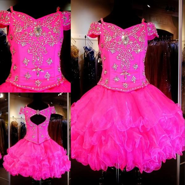 Pink Pageant Dresses