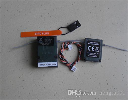 AR6210 DSM-X Receiver 2.4Ghz 6CH DSM-X Receiver with Satellite