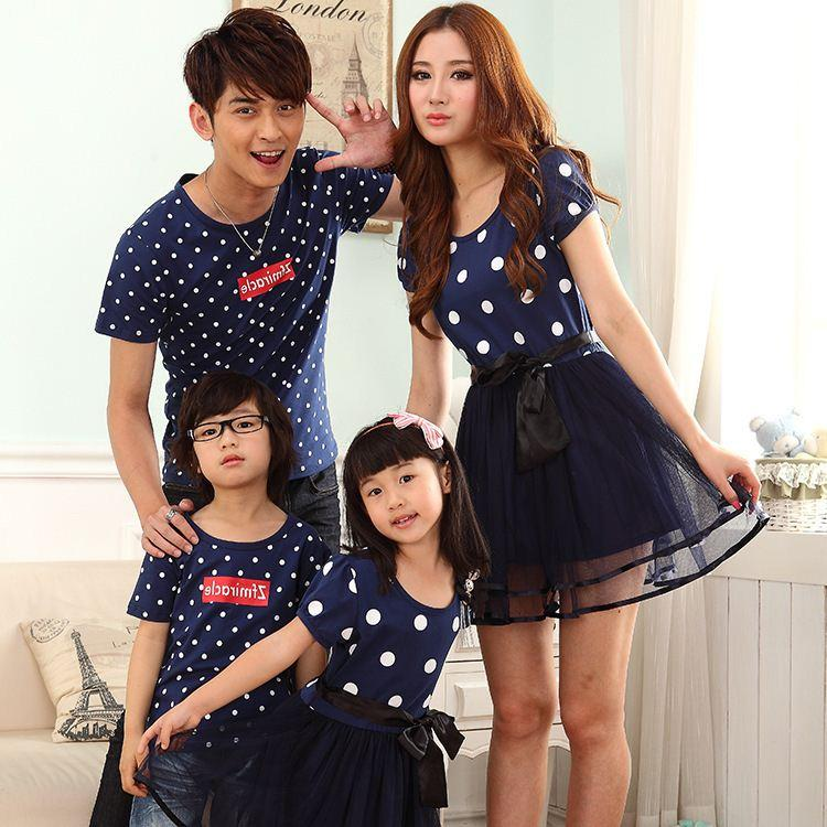 7798b7fca815 Summer Style Family Clothing Family Matching Family Parent-Child ...