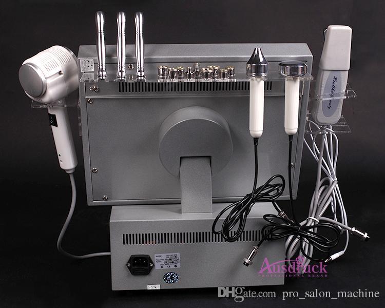 빠른 배송 DIAMOND MICRODERMABRASION 얼굴 초음파 초음파 피부 세정기 Dermabrasion 필링 기계