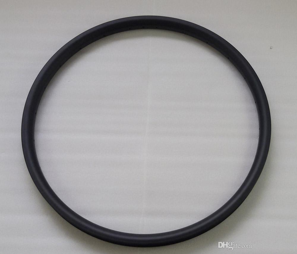 MTB 650B bicycle wheel rims 24 holes DH AM XC mountain bike rims 27.5er UD matt hookless 36mm wide 25mm depth tubeless compatible
