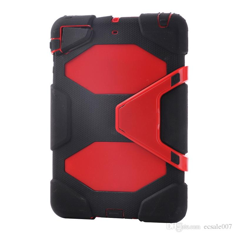For iPad mini 1,2,3 cases Defender Military Spider Stand Water/dirt/shock Proof Case Cover with retail package DHL