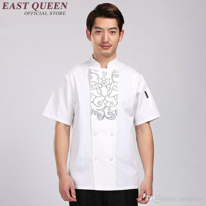 2018 Food Service Chef Costume Uniform Jacket Cooks Clothing Chinese Restaurant Uniforms Hotel Uniform Men Uniforms For Waiters Aa733 From Eastqueen ...  sc 1 st  DHgate.com & 2018 Food Service Chef Costume Uniform Jacket Cooks Clothing Chinese ...