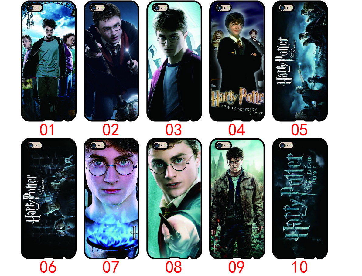 on sale 826e3 21f61 Harry Potter For iPhone 6 6S 7 Plus SE 5 5S 5C 4S iPod Touch 5 For Samsung  Galaxy S6 Edge S5 S4 S3 mini Note 5 4 3 phone cases