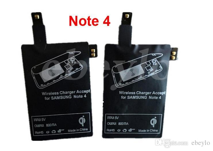 New Qi Wireless Charger Receiver Wireless Charging Adapter For Samsung Galaxy S3 S4 S5 NOTE2 NOTE3 Note 4 Hot Sales