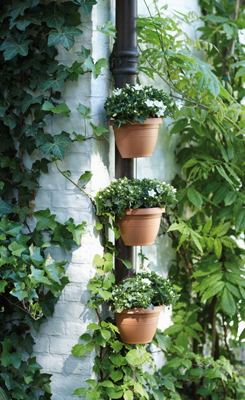 Acheter unique gouttière downspout jardin fleur pot drain pipe flower plant pots tubes drain pipe jardin planteurs de 23 8 du hjh1010 dhgate com