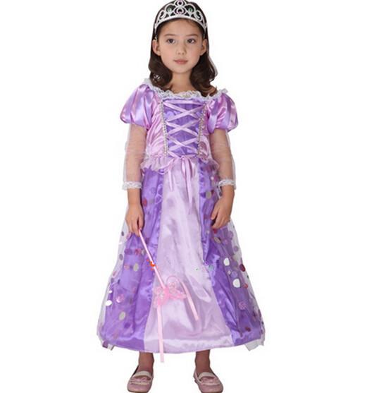 purple fairy mermaid costume for children princess sea maid halloween costume kids queen fantasia infantil costumes dress for 110140cm 1651 mens costumes