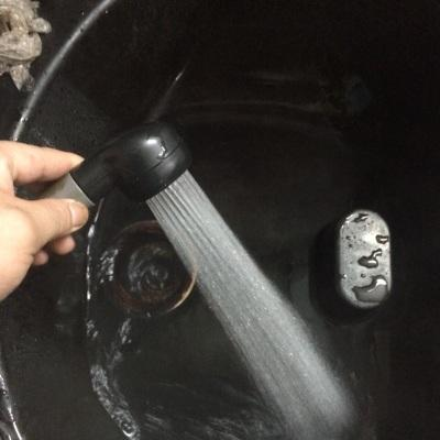 한 세트 샘플 이발소 구매 샴푸 침대 샴푸 샤워 헤드 헤어 살롱 HandHeld Water Sprayer 휴대용 샤워 헤드 1/2