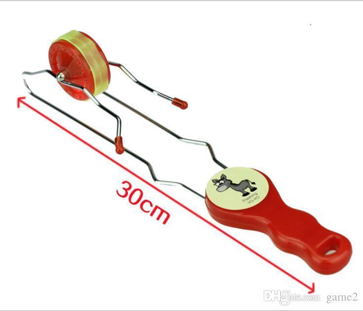 LED track yo-yo YOYO ball 2018 best-selling product flash yo-yo ball toys for children selling panic buying