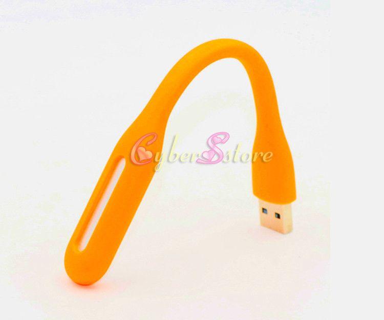 USB LED Lamba Işık Taşınabilir Esnek Bükülebilir Mini USB Dizüstü Notebook Tablet Güç Bankası USB için Işıkları Gadets