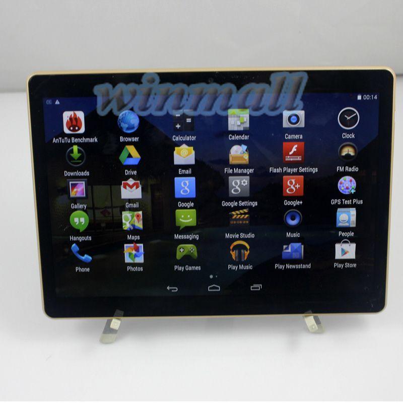 9.6 inch IPS 3G Phablet Tablet PC Quad Core Fake MTK6592 octa core 4GB 32GB Bluetooth GPS Dual SIM T950s
