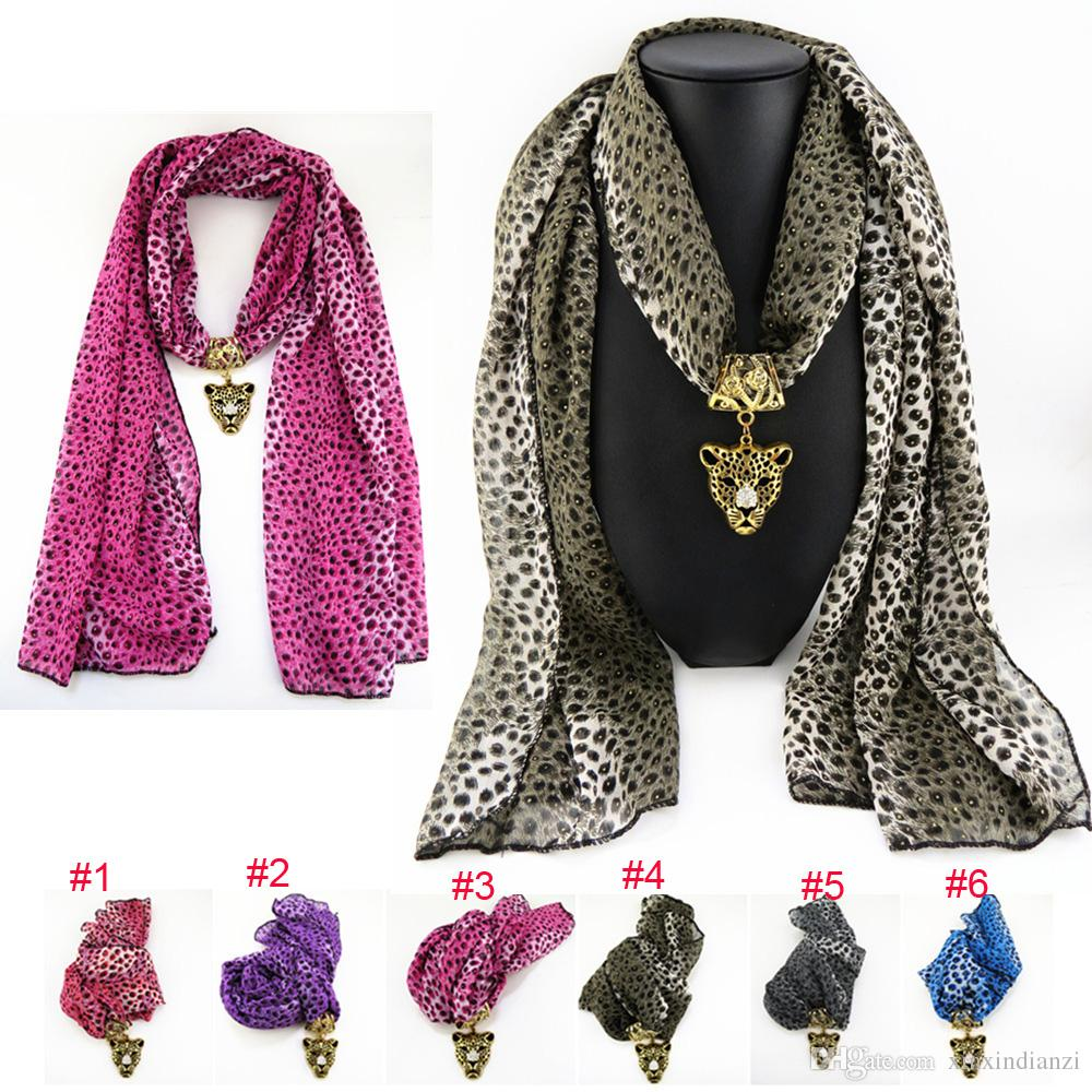 Wholesale mix alloy leopard chiffon pendant scarf jewelry beads wholesale mix alloy leopard chiffon pendant scarf jewelry beads scarves necklace scarfs pendants fast freedhl e84l scarves necklace scarfs ladies scarfs aloadofball Choice Image