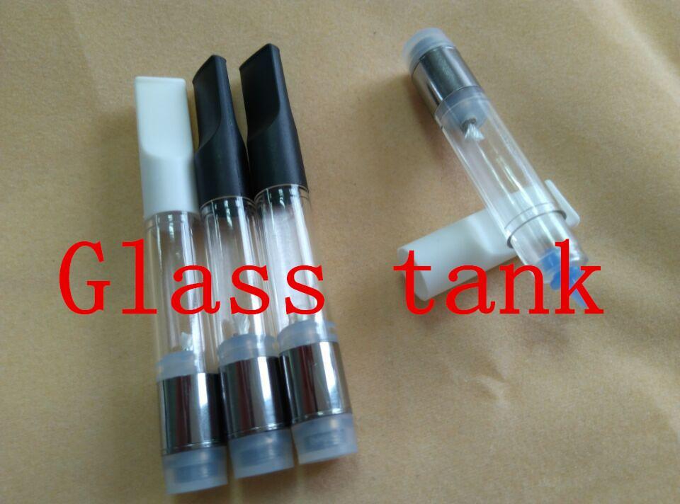 clear cbd oil atomizer cartridge transparent electronic cigarette pc  clearomizer 510 thick oil bud touch vape pen cartridge vape