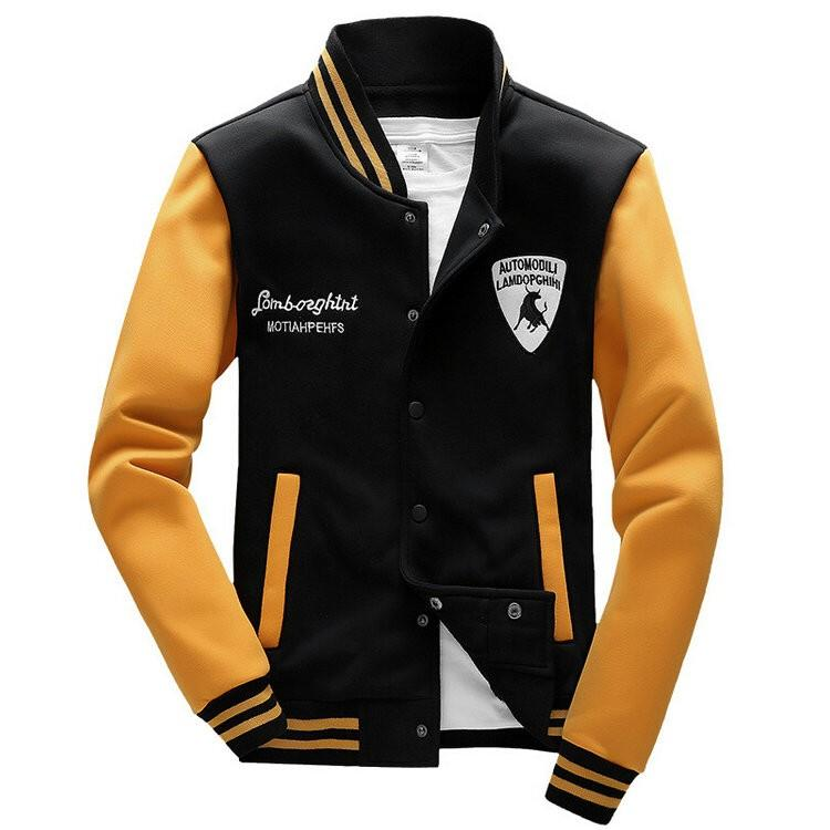 College Baseball Jacket Men 2016 Fashion Sports Wear Brand Design ...