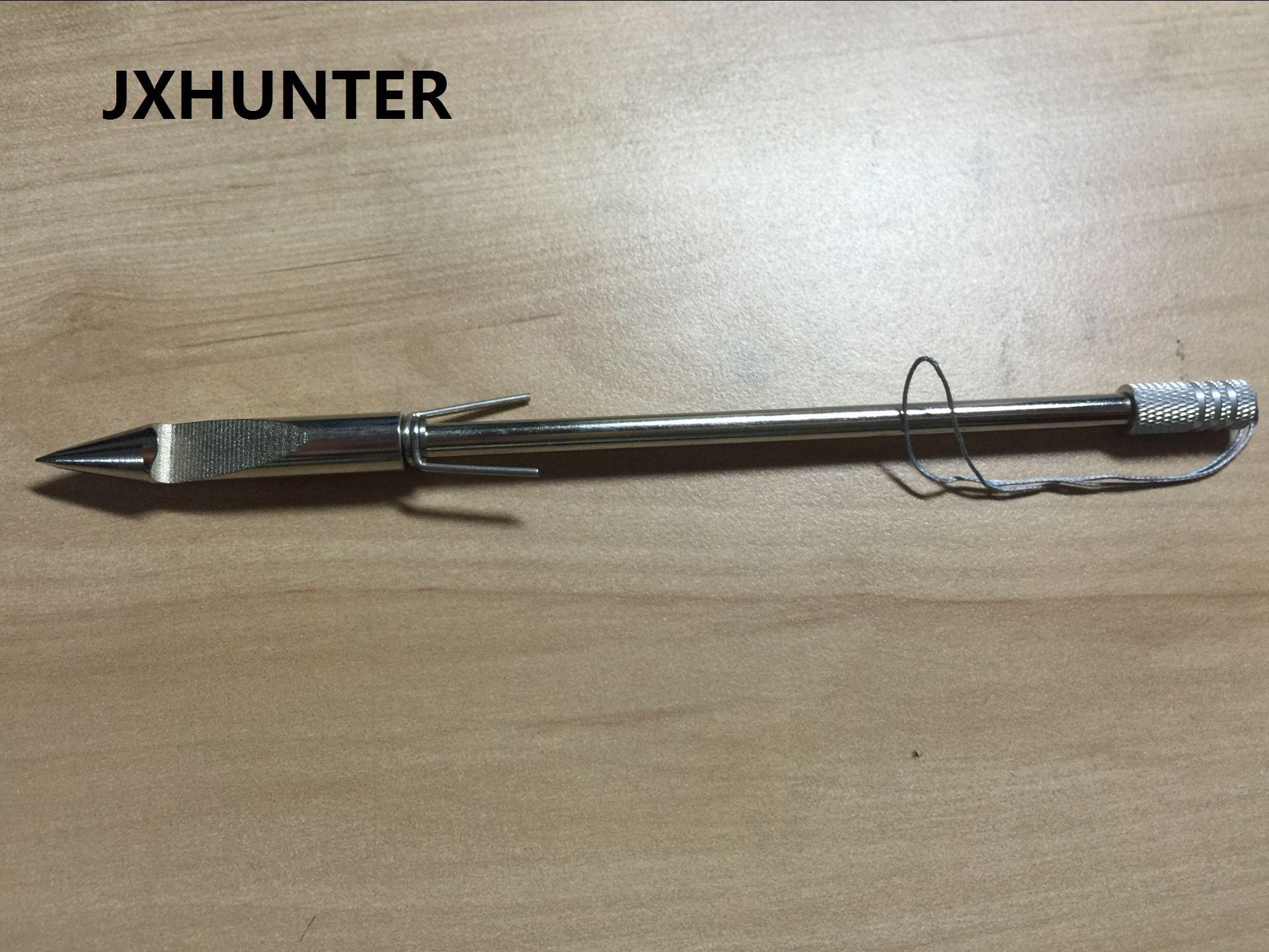 3 PK 강 낚시 화살 Broadheads Slingshot 낚시 사냥 팁 용 화살촉 6.3 인치 35g