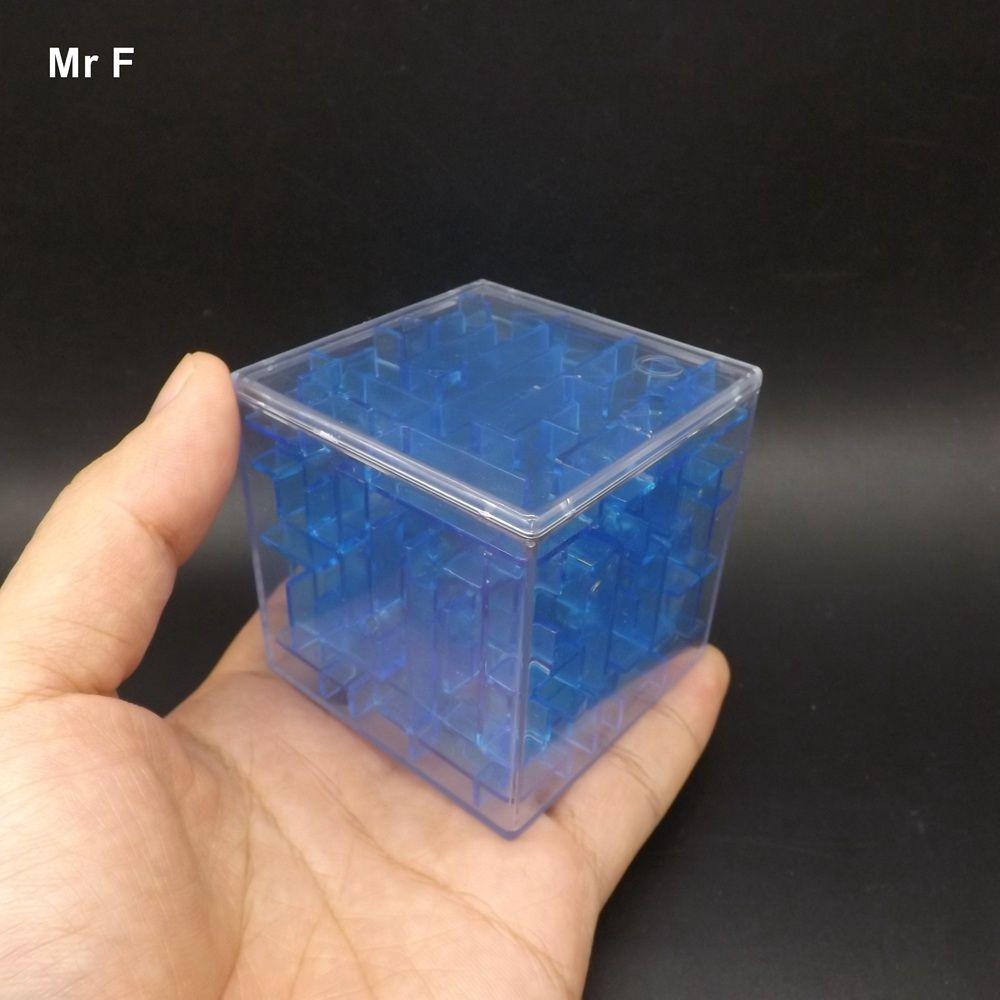 Großhandel Spaß 6 Cm Kleine Intellekt Ball Maze 3d Stereo ...