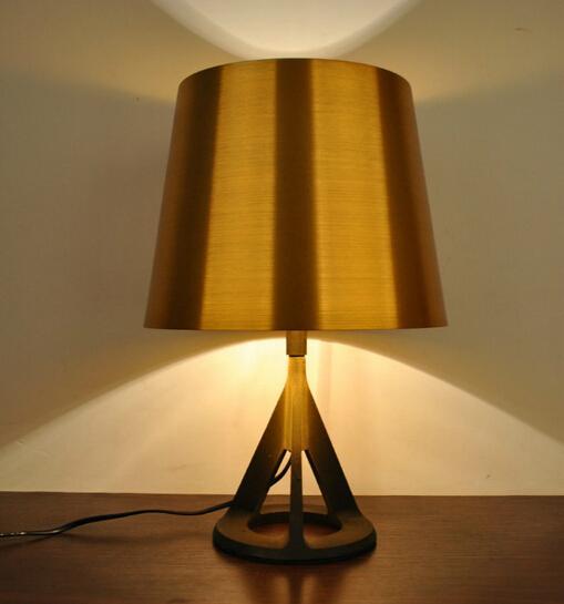 Online Cheap Tom Dixon Base Table Lamp Metal Table Light Desk Lights Modern Table Light Bedside