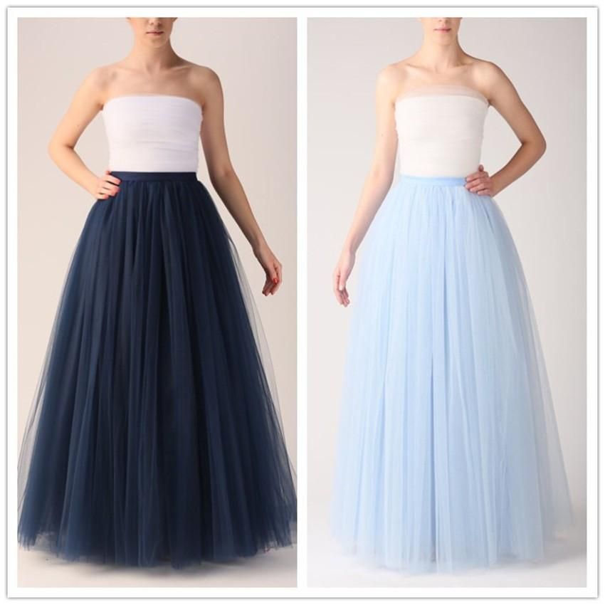 2016 Spring Summer Classic Tutu Skirt Long Bridesmaid Dresses Tutu ...