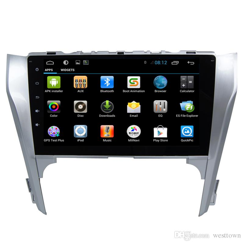 2 Din Car FM Radio Player Android Central Entertainment System for Toyota Camry 2012 2013 2014 Aisa/Europe with Touch Screen GPS BT Car Dvd