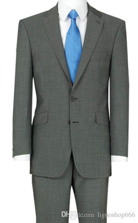 Real Photo One Button Black Groom Tuxedos Пик сатин отворот шафер дружка мужчины Свадебные костюмы Жених Жакеты Брюки Tieq162